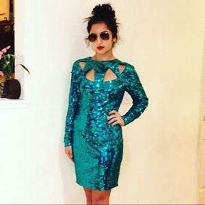 Sequins dress